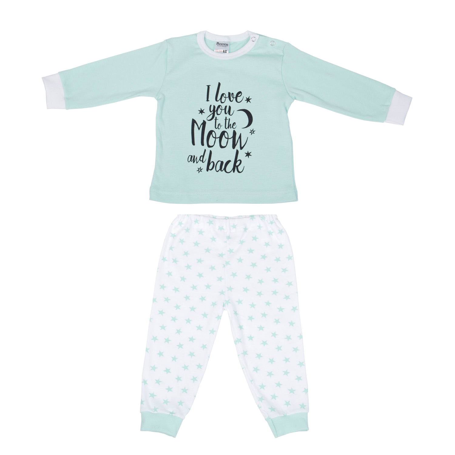 Beeren Pyjama Love You Mint 98/104