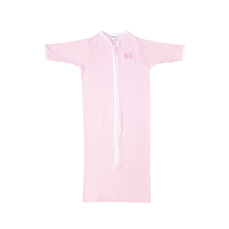 Beeren M401 Baby Slaapzak Lange Mouw Rits Roze 50/68