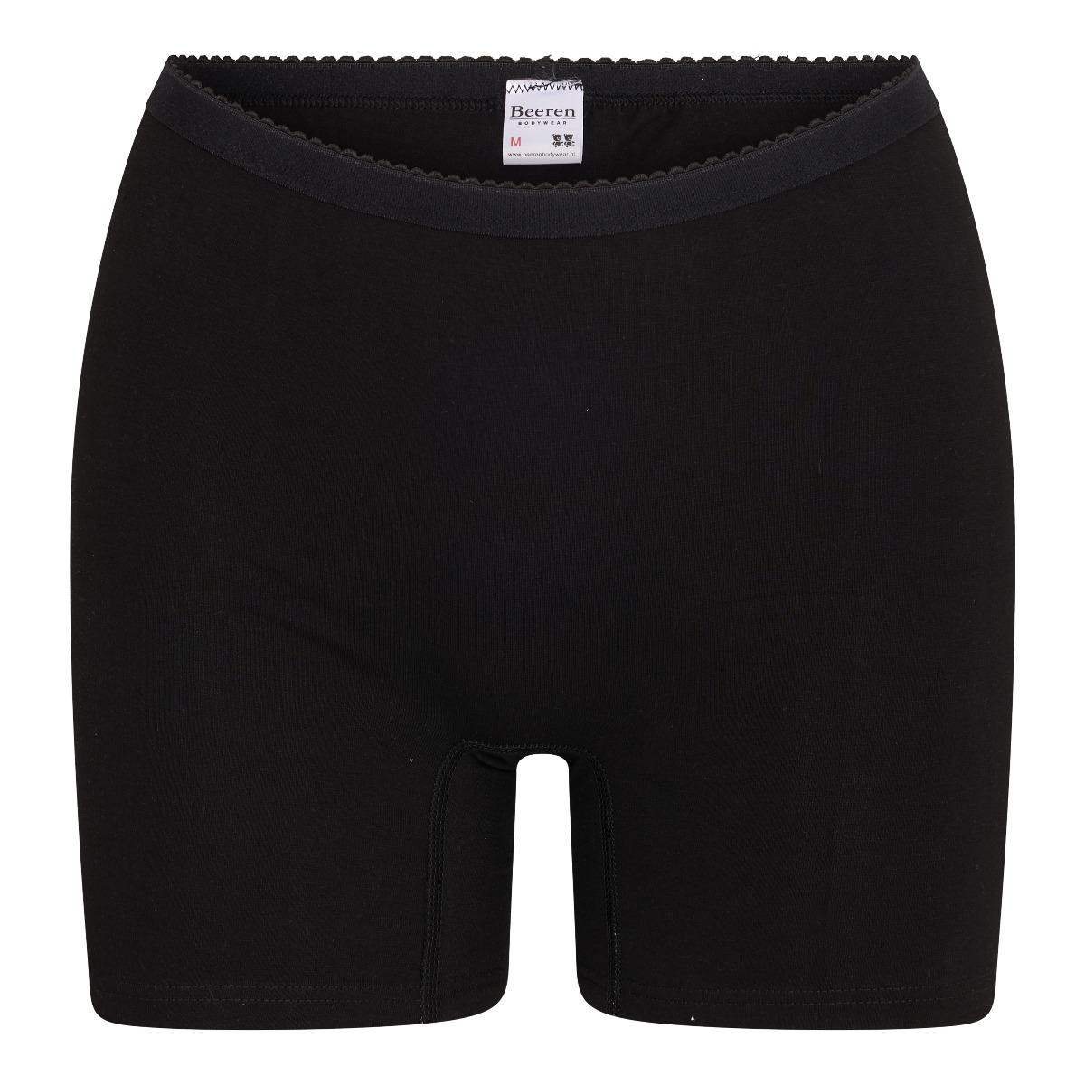 Beeren Softly Dames Boxer Zwart XL
