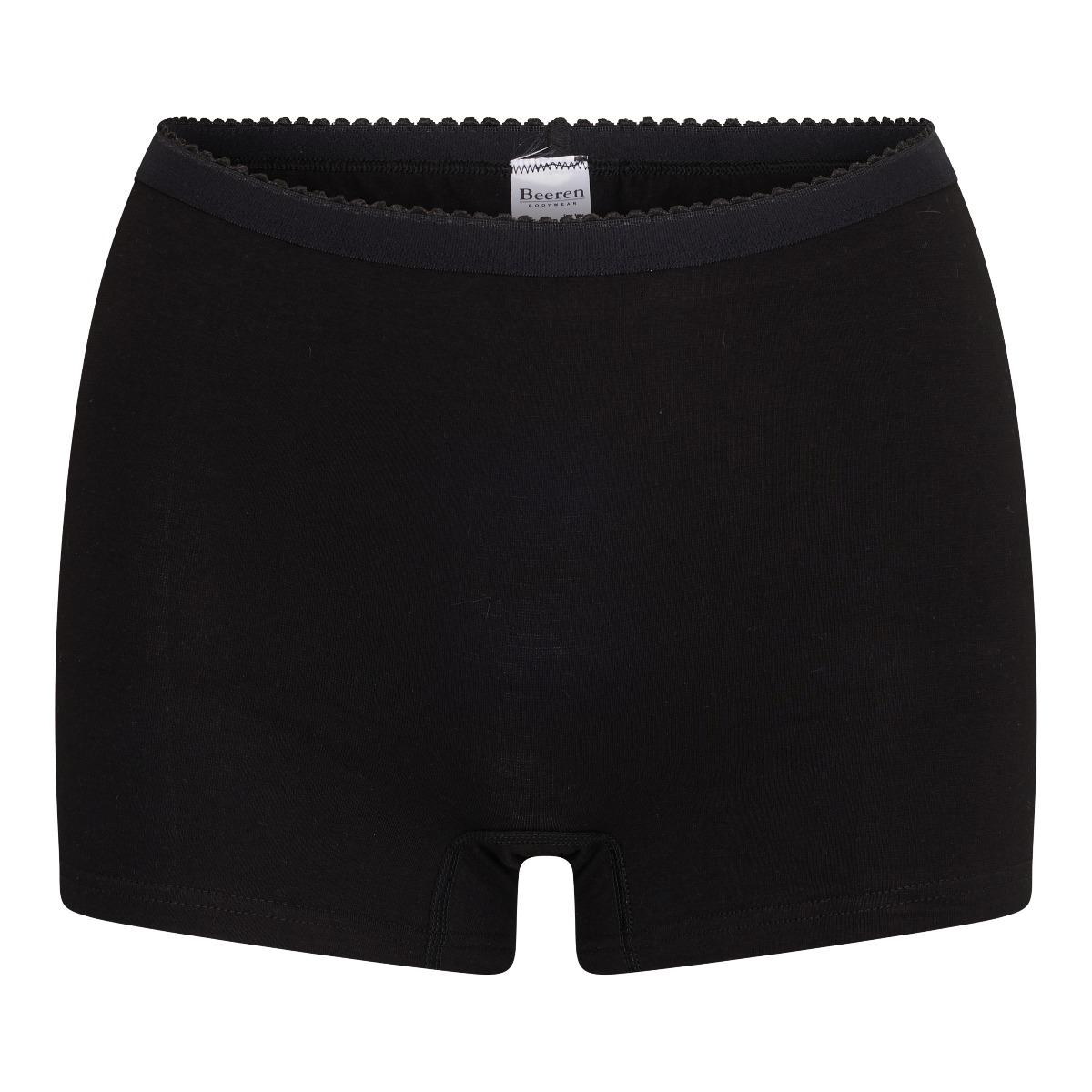 Beeren Softly Dames Panty Zwart L
