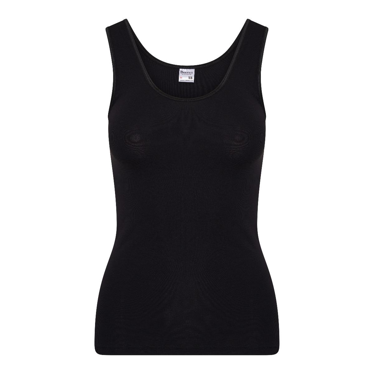 Beeren Young Dames Hemd Zwart XL