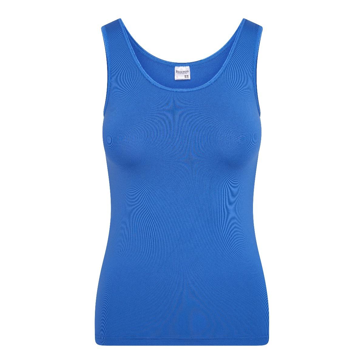 Beeren Elegance Dames Hemd Blauw S