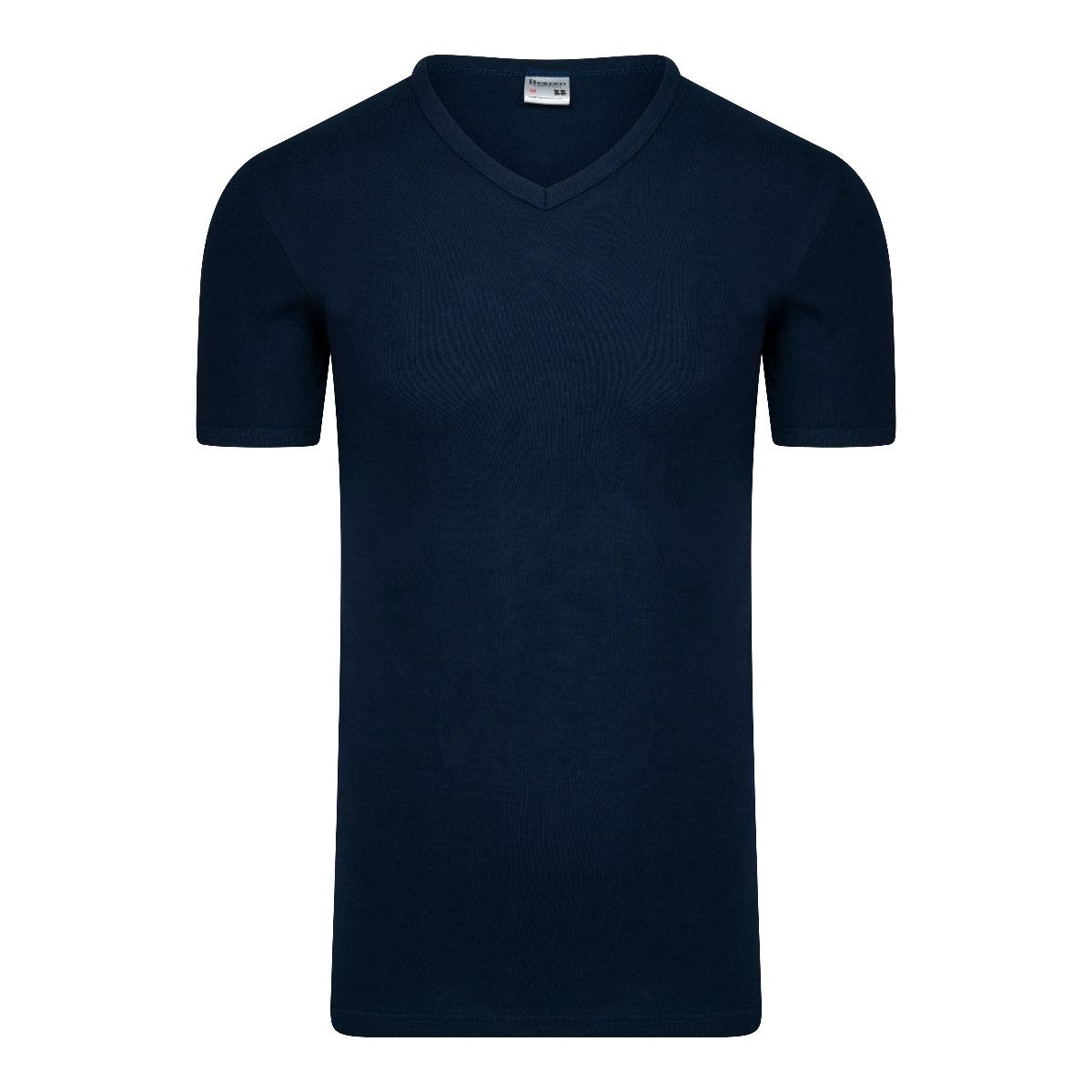 Beeren M3000 Heren T-shirt V-hals Extra Lang Marine XL