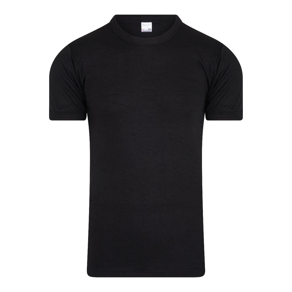 Beeren Thermo Heren T-shirt Zwart L