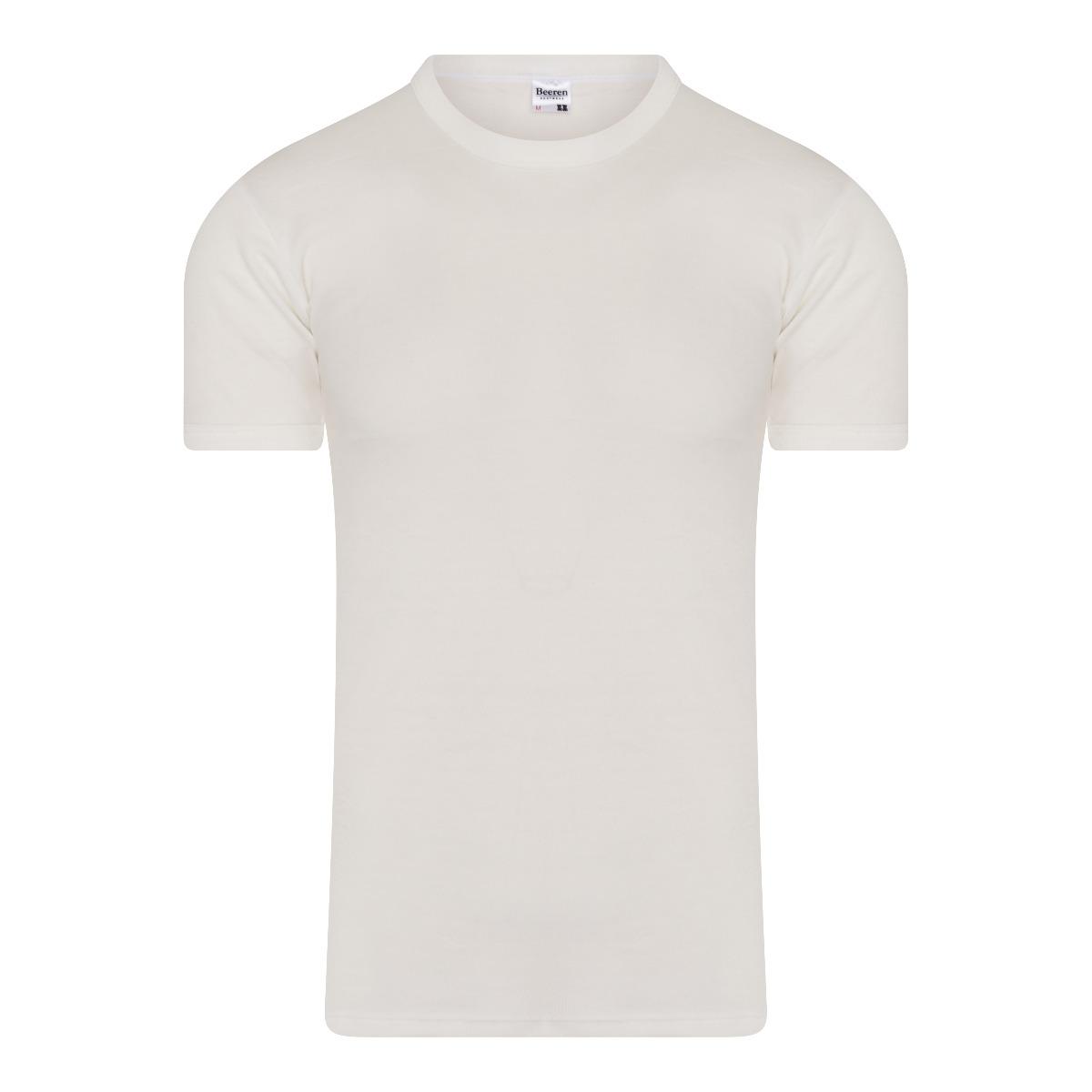 Beeren Thermo Heren T-shirt Wolwit M