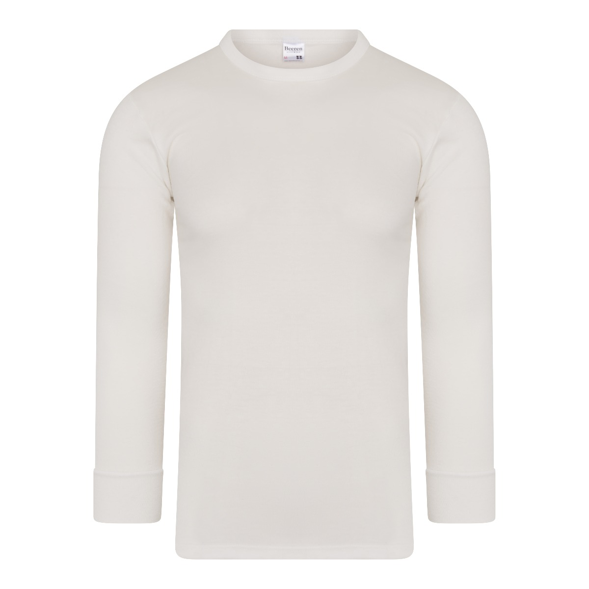 Beeren Thermo Heren Shirt Lange Mouw Wolwit Xxl