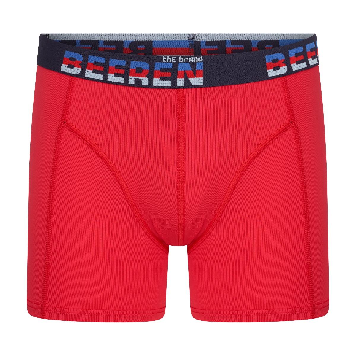 Beeren Elegance Heren Boxershort Rood M