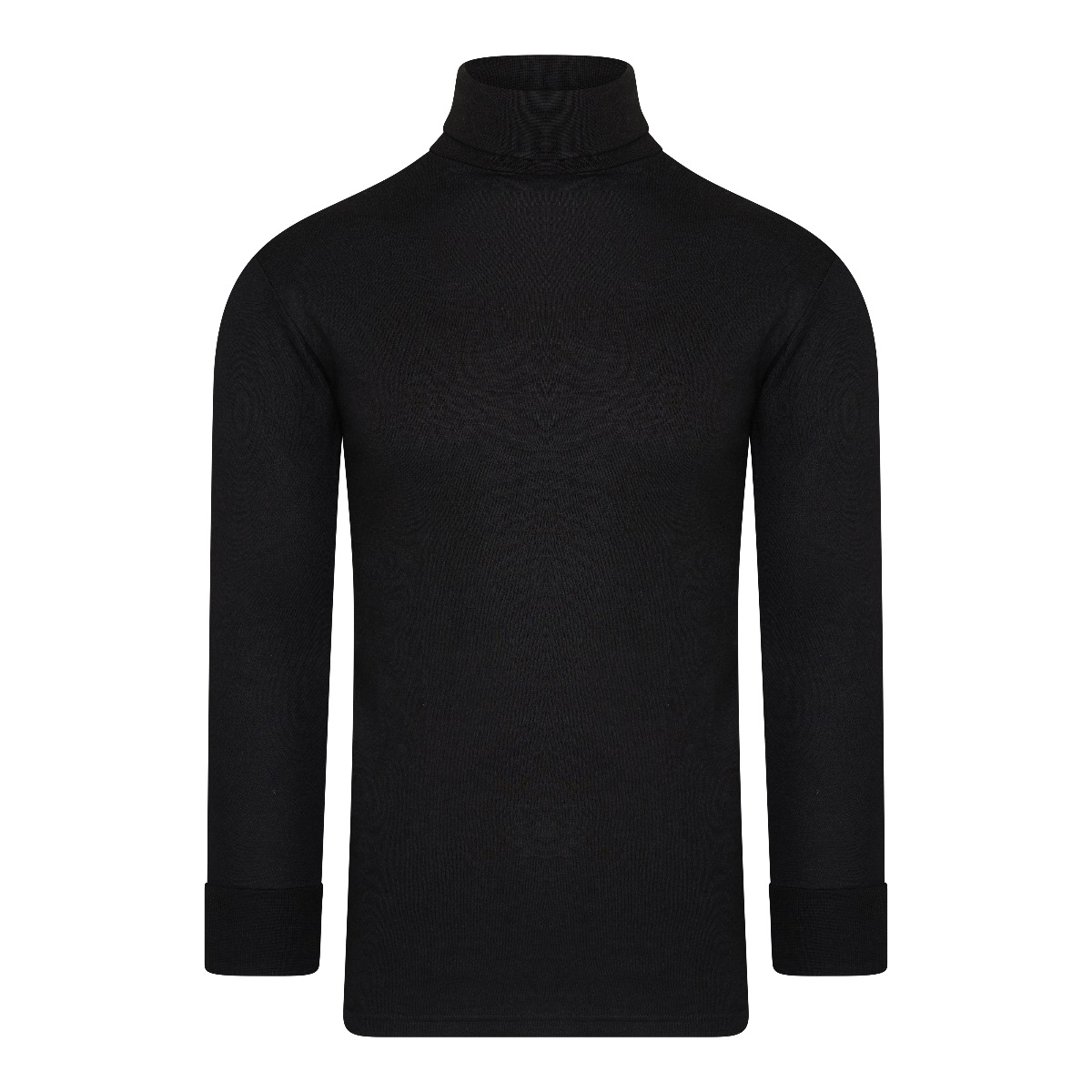 Beeren Thermo Unisex Shirt Col Lange Mouw Zwart L