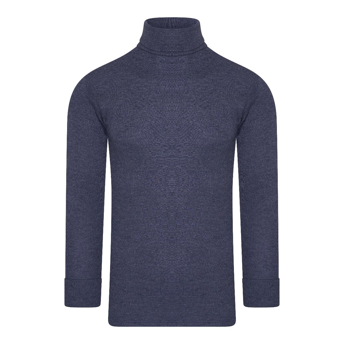 Beeren Thermo Unisex Shirt Col Lange Mouw Marine M