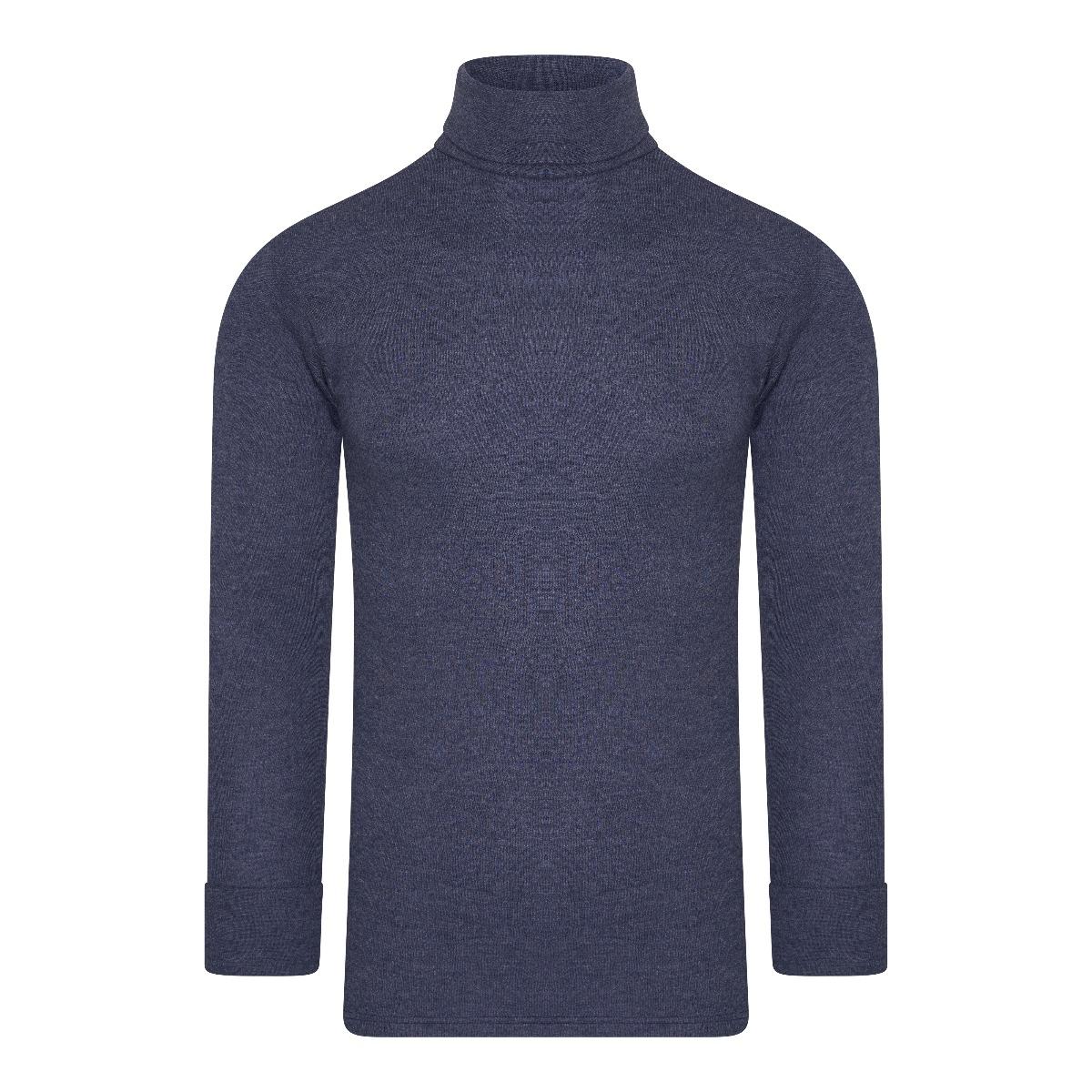 Beeren Thermo Unisex Shirt Col Lange Mouw Marine XL