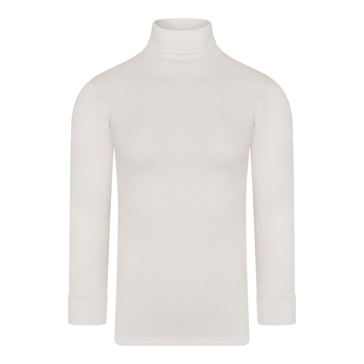 Beeren Thermo Unisex Shirt Col Lange Mouw Wolwit L
