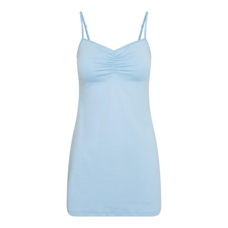 RJ Pure Color Dames (Strand) Jurkje Lichtblauw XL
