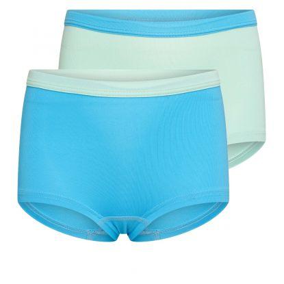 Beeren 2-Pck Mix&Match Meisjes Boxer Mint/Turquoise