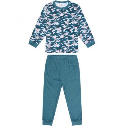 Beeren Baby Pyjama Camouflage/Legergroen