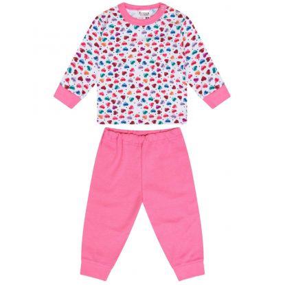 Beeren Baby Pyjama Hearts/Pink