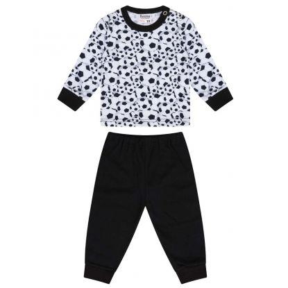 Beeren Baby Pyjama Soccer/Zwart