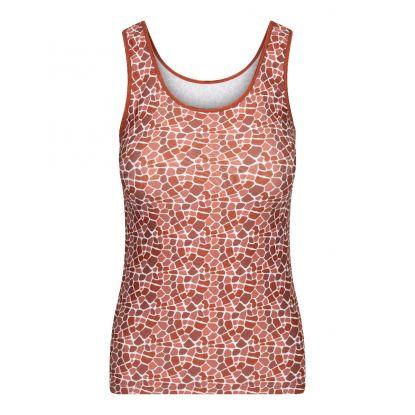 RJ Pure Color Shirt 'Giraffe Cognac'