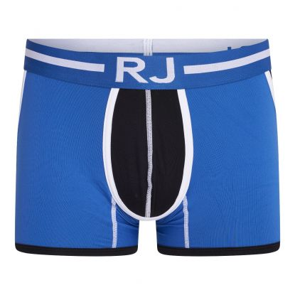 RJ Pure Color Heren Boxershort 'Happy Balls' Blauw