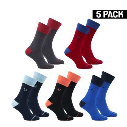 RJ 5-Pack Heren Giftbox Sokken