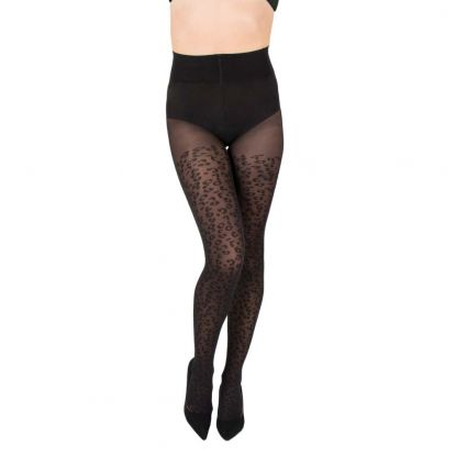 Shaping Leopard Tights 50D