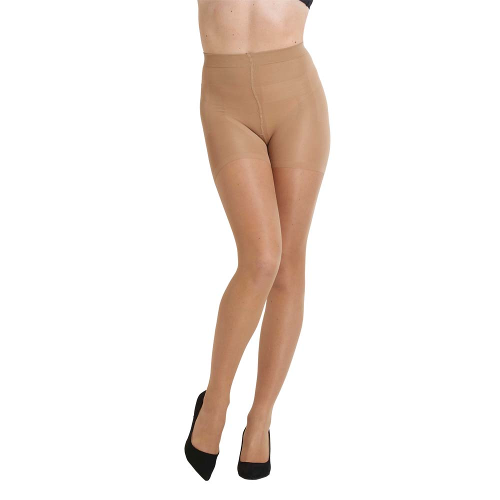 High Waist Shape Up Tights 15d Nude L