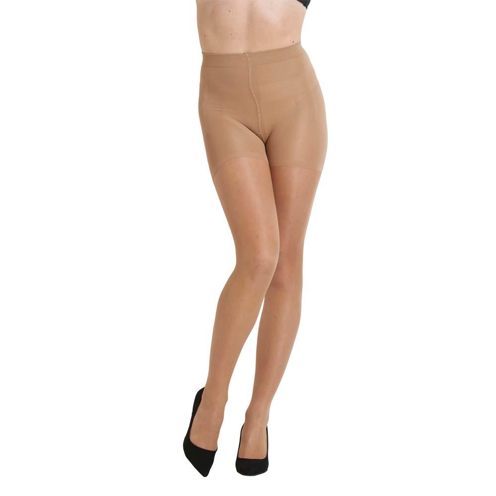 High Waist Shape Up Tights 15d Nude M